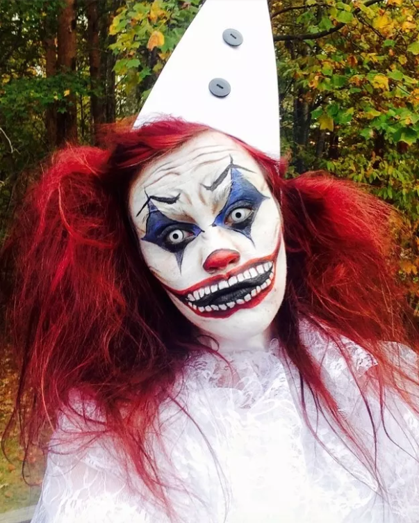 Show Us Your Best Creepy Halloween Costumes Scary Clown Halloween Costume Clown Halloween Costumes Scary Clown Makeup