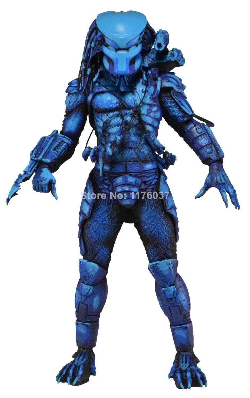 "Vogue Classic Schwarzenegger Sci-Fi/Horror Movie Alien Hunter/Predator 7"" NECA Figure Toy New Original Box $39.50"