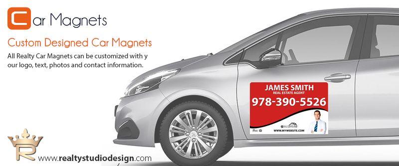 Real Estate Car Magnets Magnetic