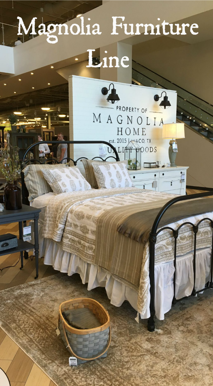 Take a look at fixer upper 39 s joanna gaines 39 furniture line magnolia home travel magnolia - Magnolia bedding joanna gaines ...