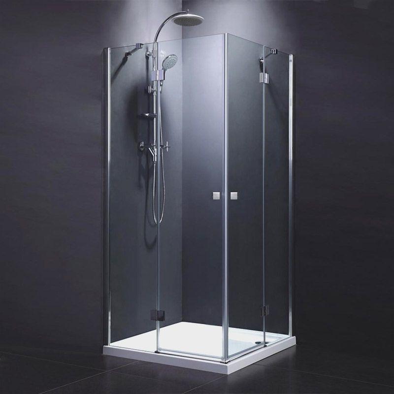 cabine de douche portes battantes de 80x80 100x100 cm chrom arena en 2020 cabine de