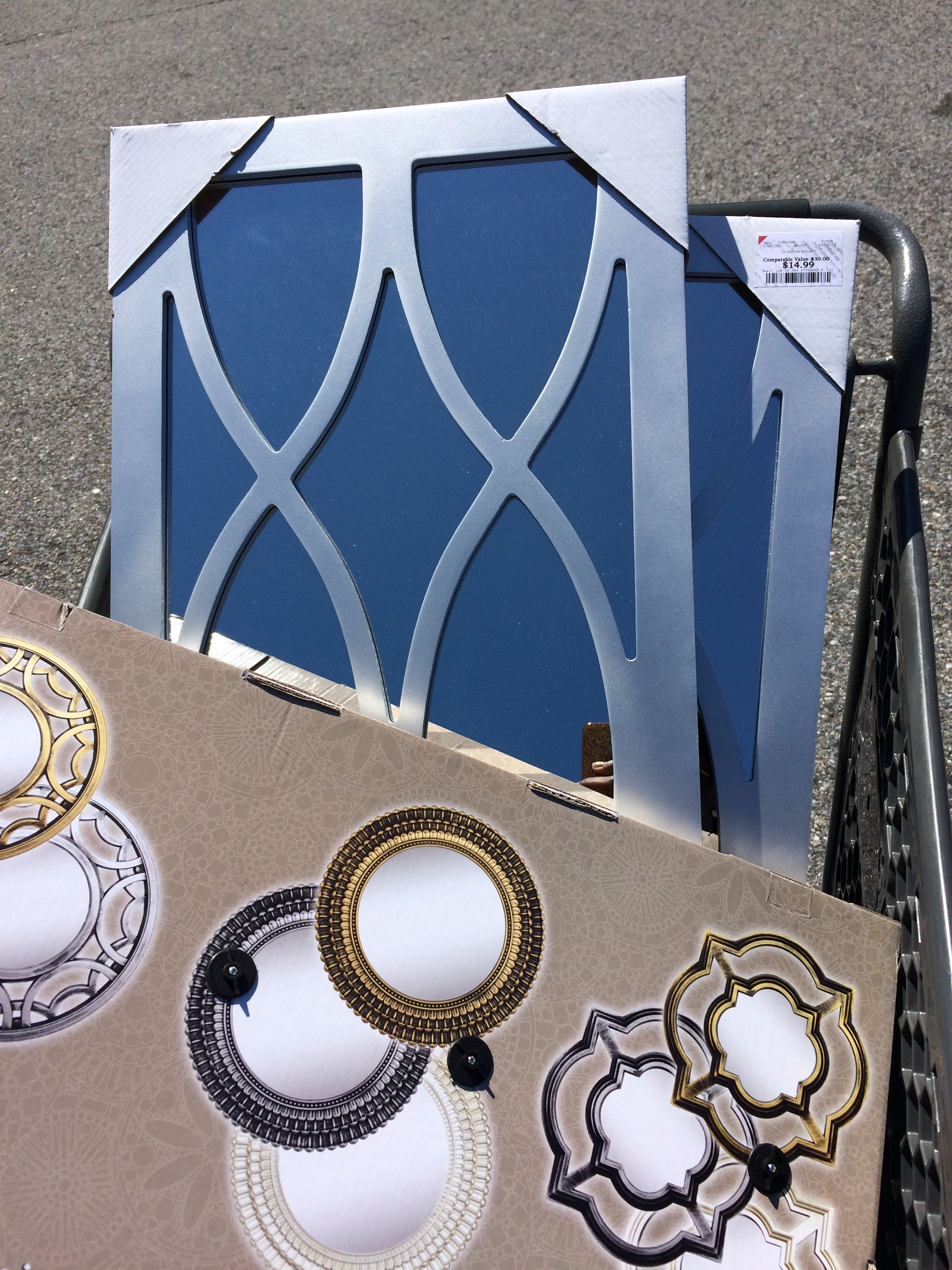 Mirrors From Burlington Coat Factory For 15 00 Nice Decor Pieces That Won T Break Your Pockets Coat Factory Burlington Coat Factory Fun Decor