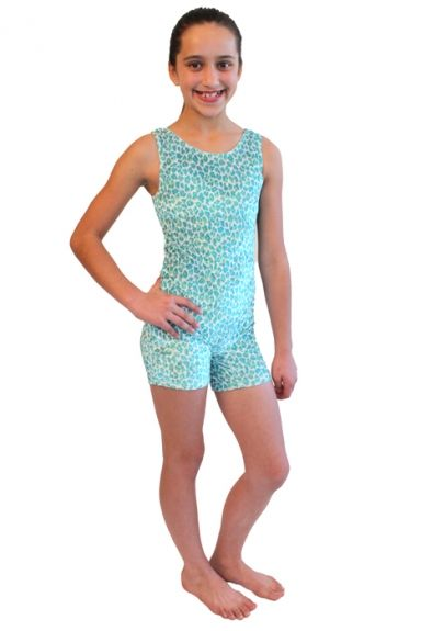 8e5b3a235169 Flip N Fit girls tank unitard for gymnastics