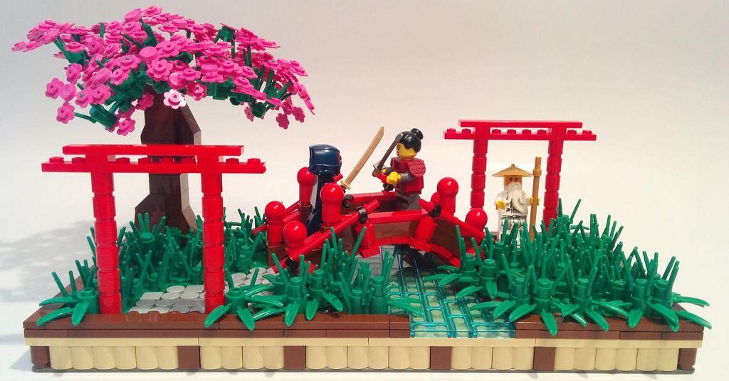 The World S Largest Lego Cherry Blossom Tree Blooms In Japan Cherry Blossom Tree Blossom Trees Cherry Blossom