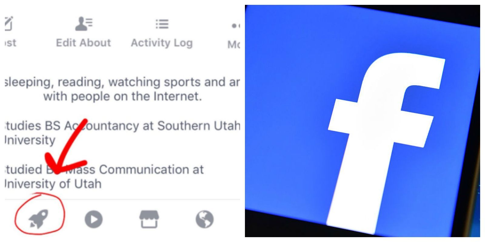 This Is What Facebook S Mysterious New Icon Means New Icon Icon Meaning Facebook App