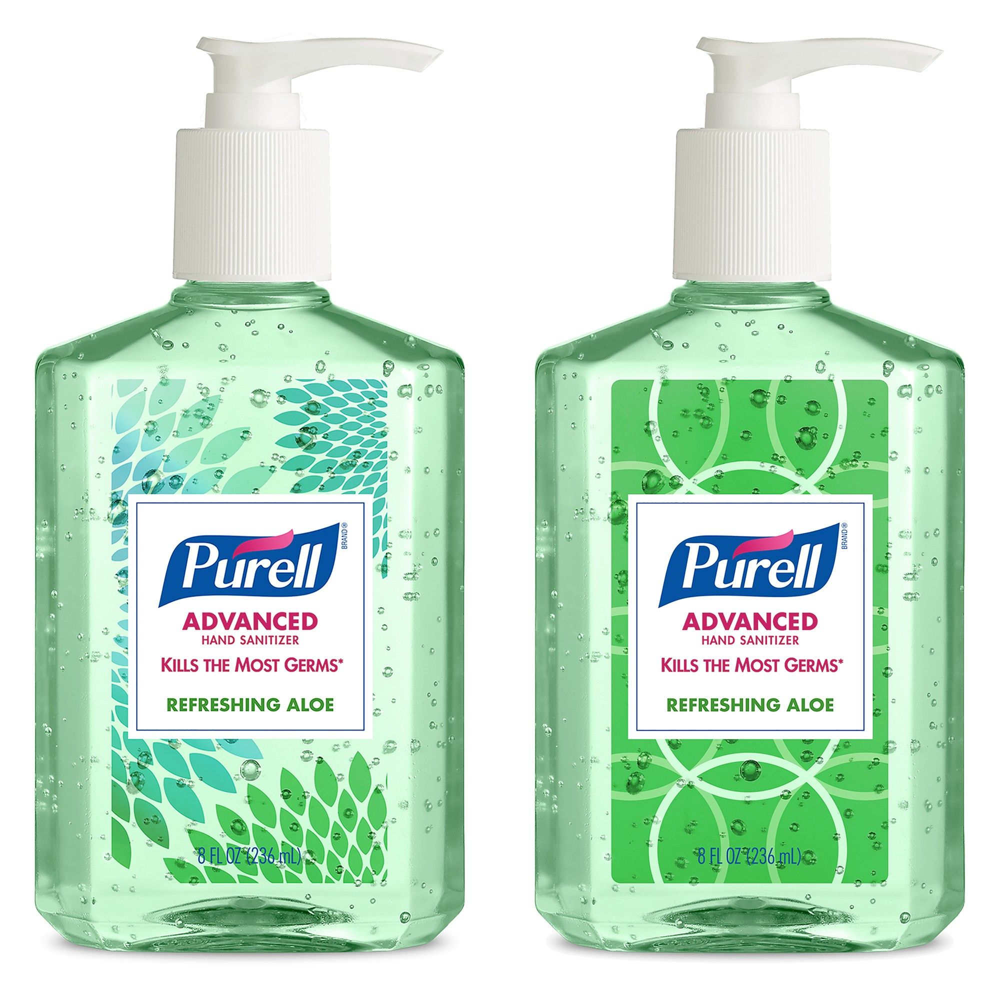 Purell Refreshing Aloe Advanced Hand Sanitizer 8 Fl Oz Best