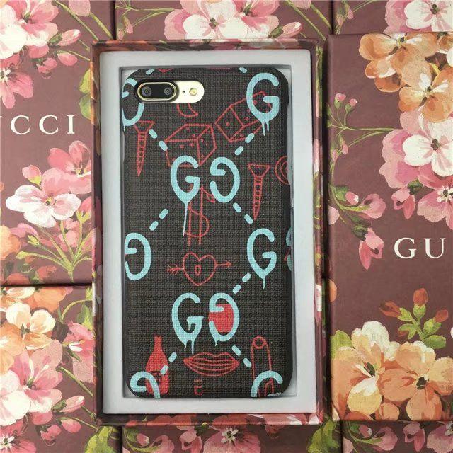 Gucci星シリーズ芸能人愛用スター iPhone8/7sPlus/7/7plusケース