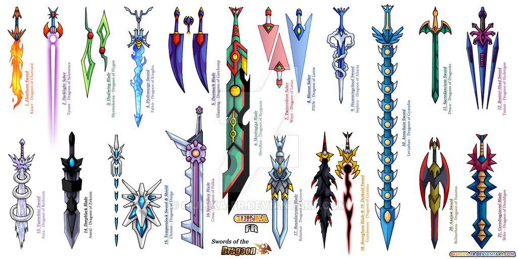 Sword Of The Dragoons By Gijinka Fr Deviantart Com On Deviantart