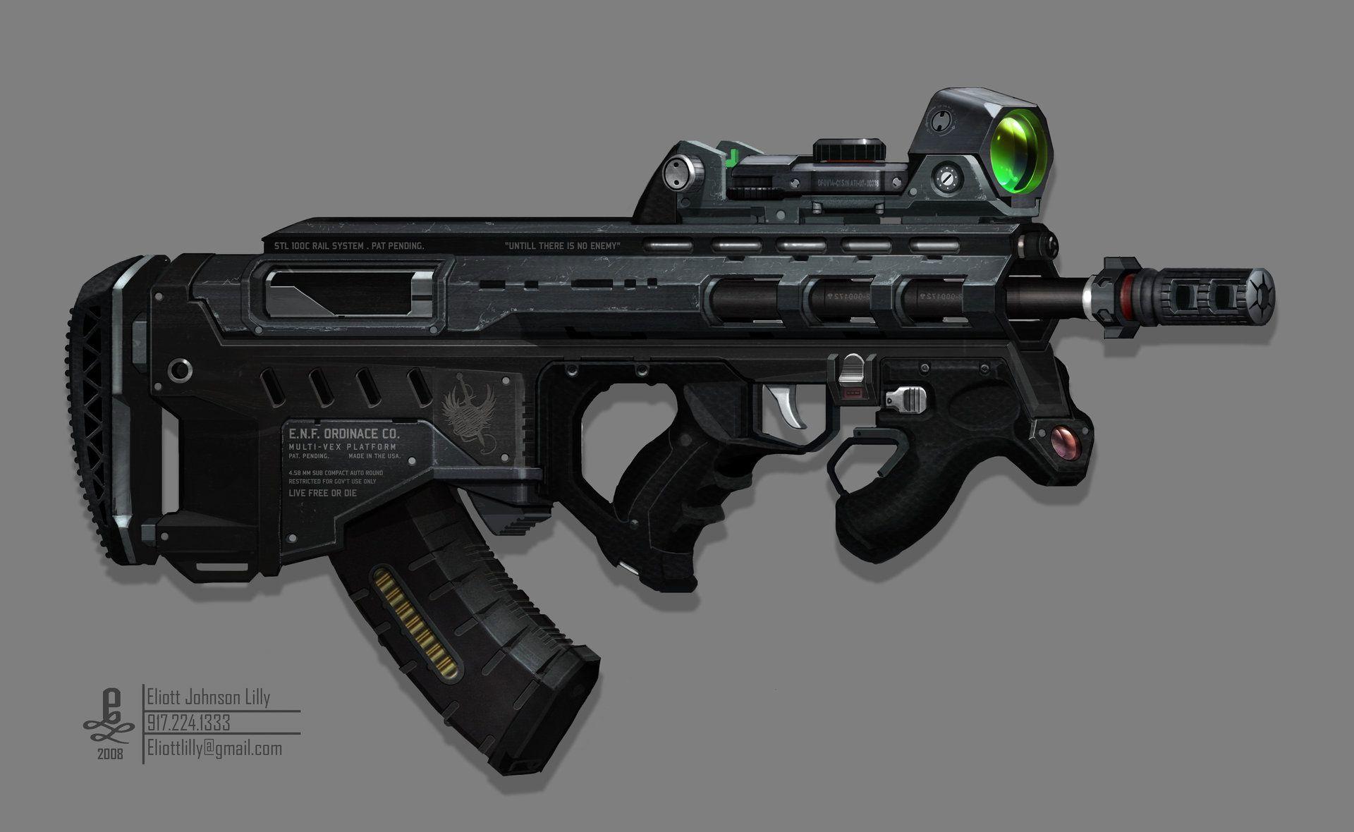 ArtStation - Future Weapons