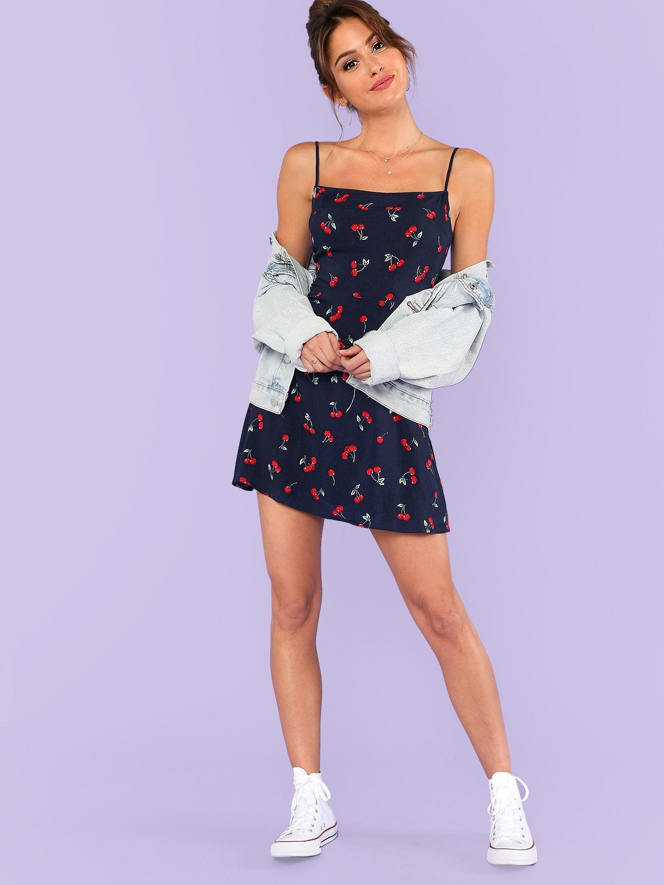b19d3b335a Allover Cherry Print Cami Dress – Beryl Green   Berylgreen Boutique ...