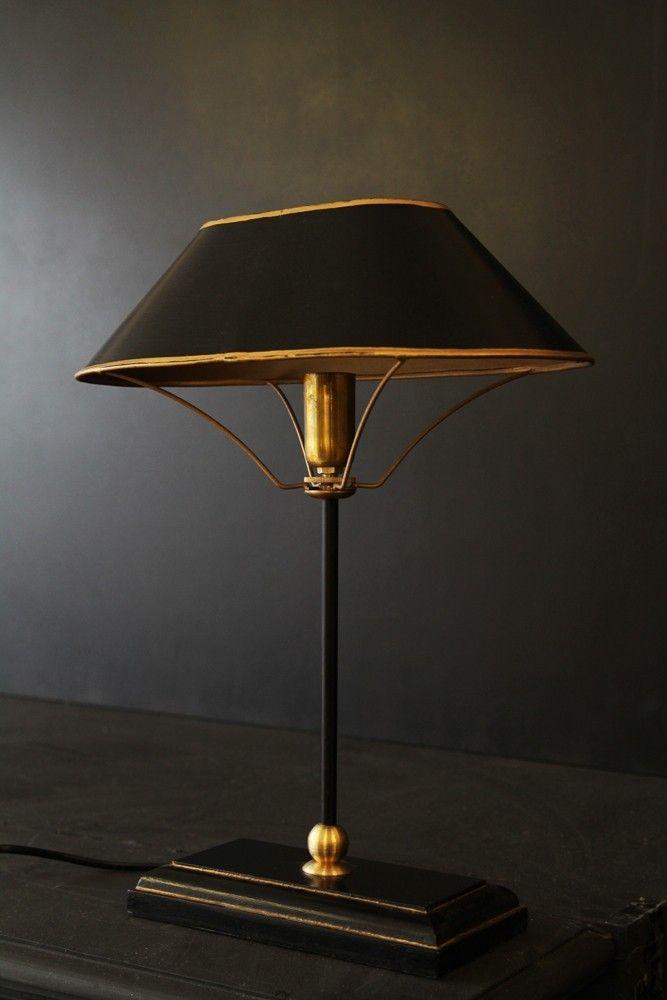 Bon Black U0026 Gold Table Lamp From Rockett St George Rockett St George