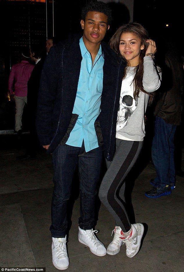 Zendaya and Trevor