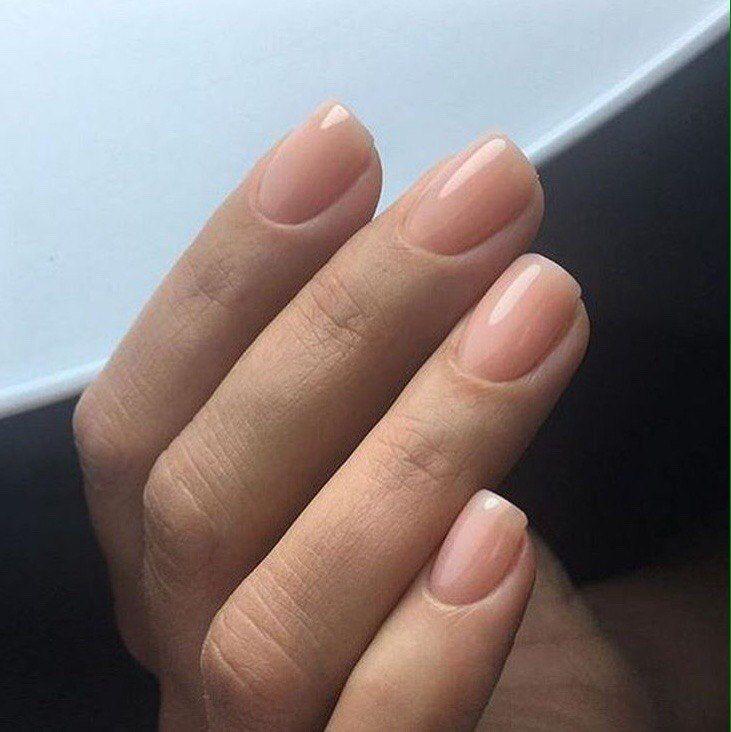 маникюр красным гель лаком на короткие ногти фото 2018