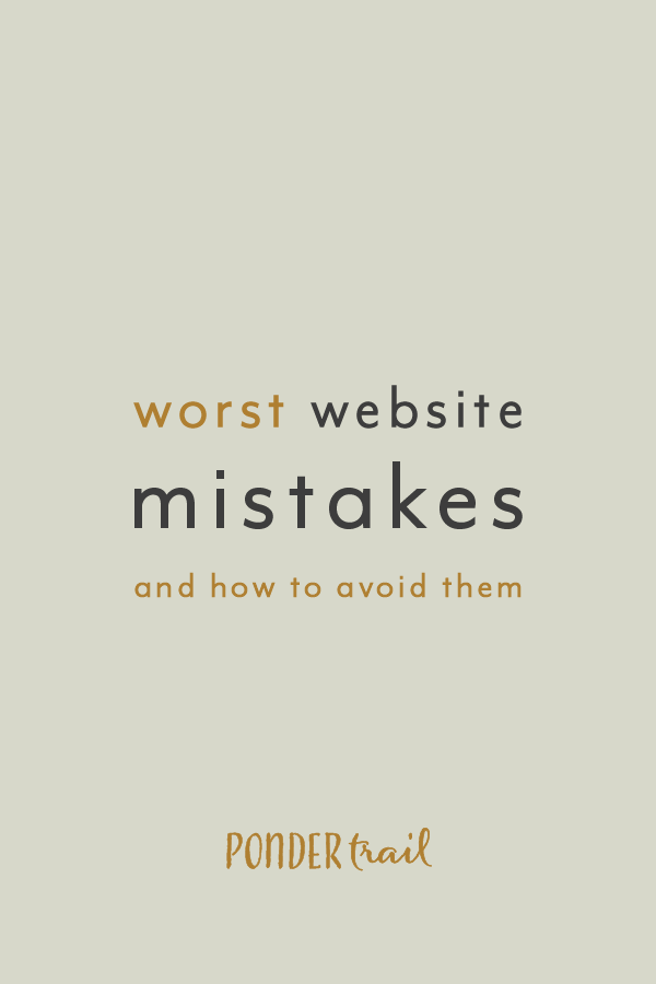 Worst Website Mistakes And How To Avoid Them Top Website Tips Website Strategy Website Design Website Mistakes Website Website Inspiration