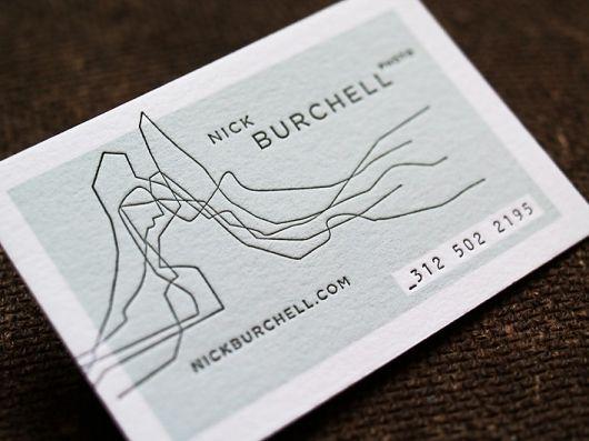 biz card, letterpress