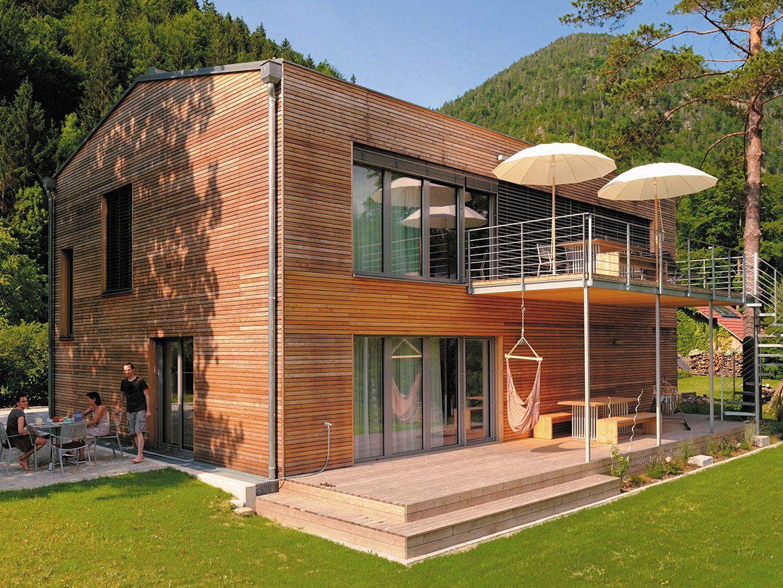 Holzhaus | Architektur | Pinterest | Holzhäuschen, Architektur und ...