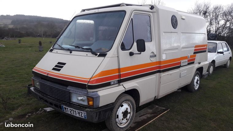 Renault Master T30d Vasp Camping Car 1982 Caravanes Camping Cars