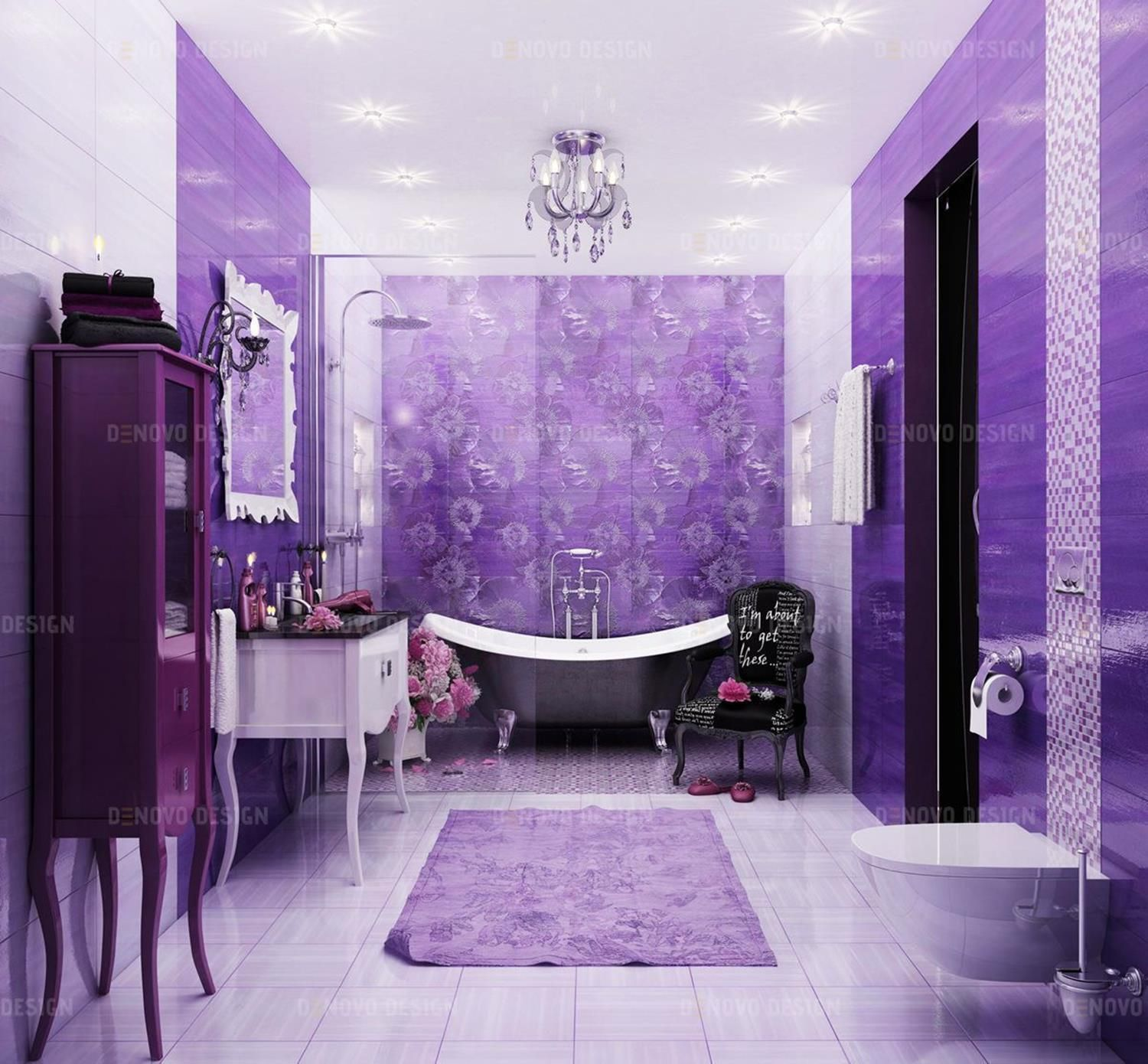 Fabulous colorful vibrant bathrooms ideas you have to