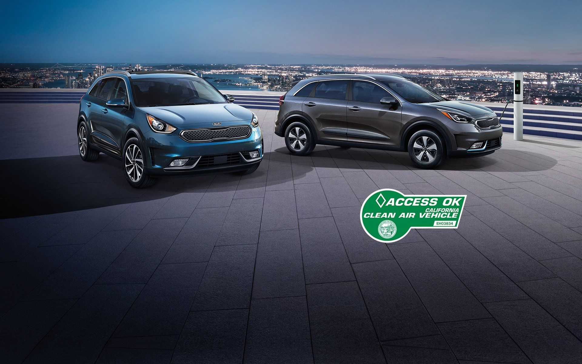 High Occupancy Vehicle Decal For The 2018 Niro Phev Crossover Suv Kia Vehicles