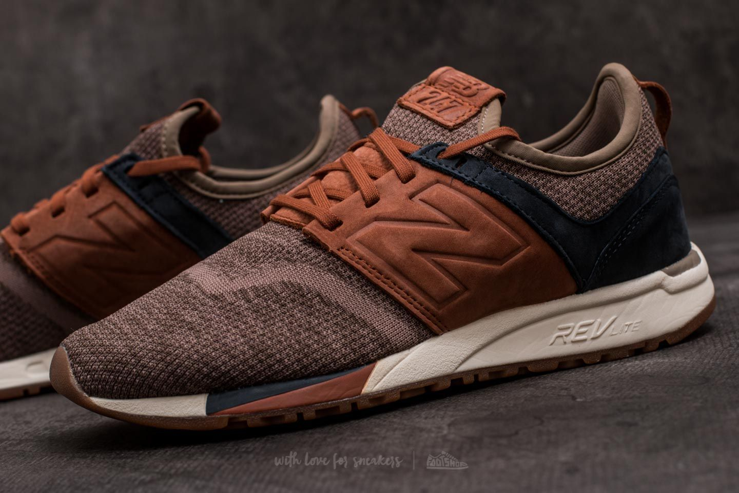 new balance 247 brown tan