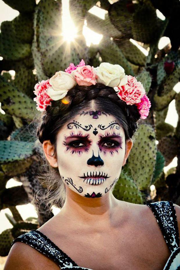 Pin en Sugar Skull Makeup