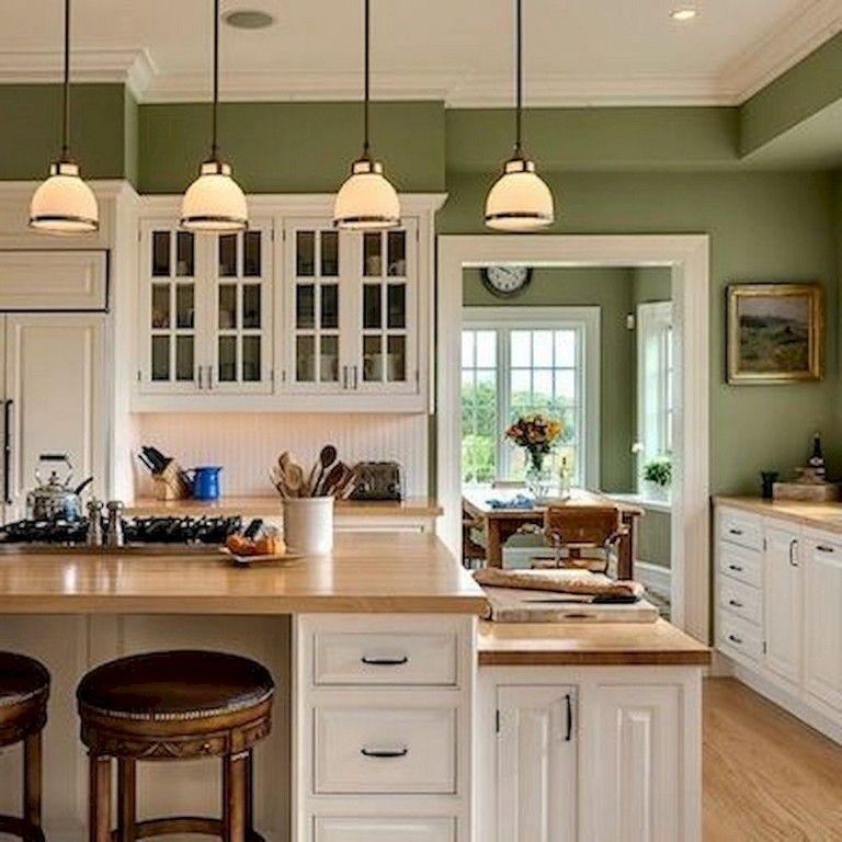 51 Green Kitchen Designs: 35+ Colorful Kitchen Ideas Remodel
