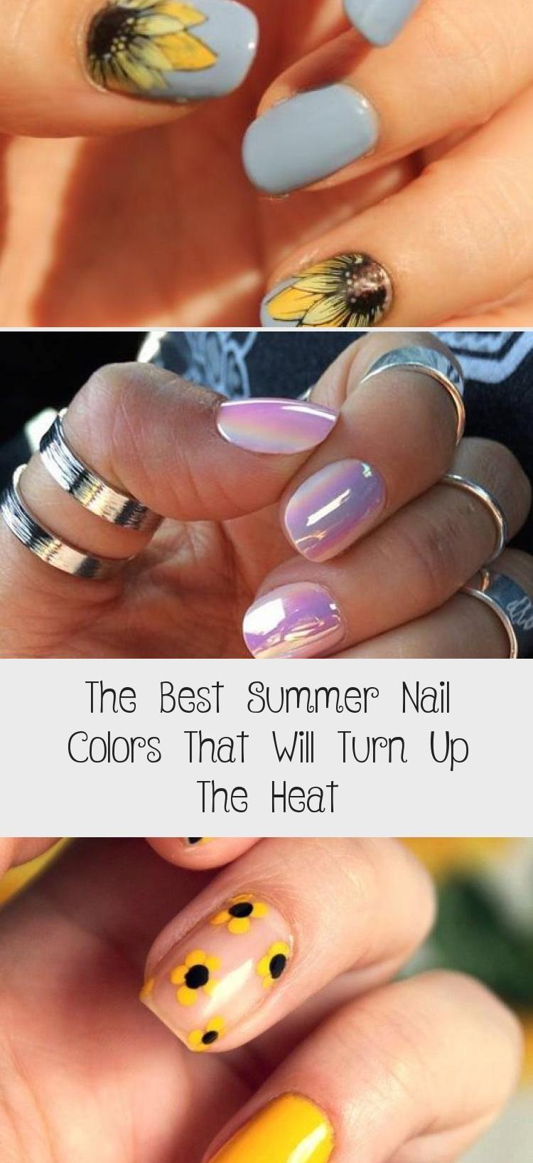 Die besten Sommer-Nagelfarben, die die Hitze erhöhen – Hautnagelpflege