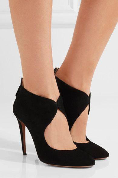 buy cheap Inexpensive Aquazzura Cutout Pointed-Toe Pumps cheap sale classic buy cheap store discount sale online the cheapest GDv2Nz