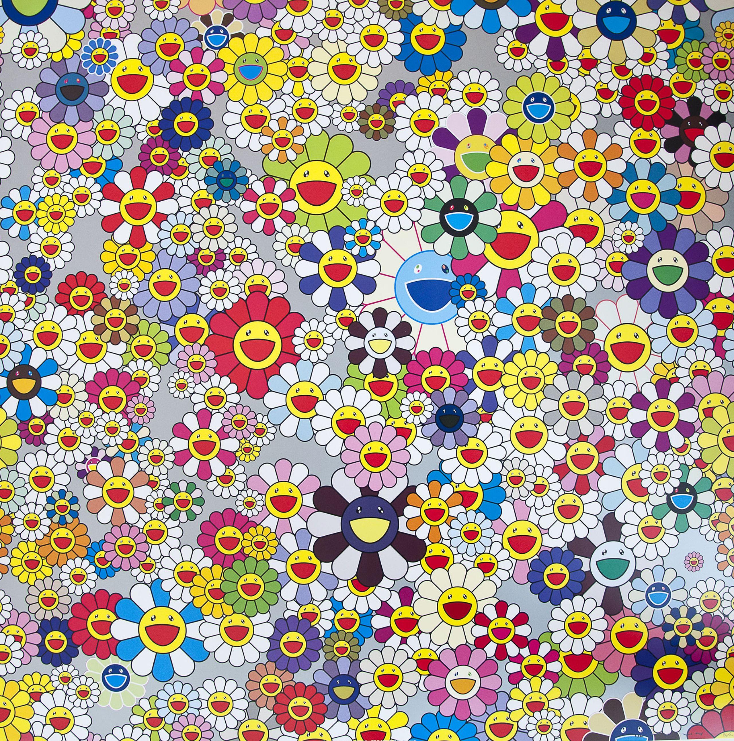 Takashi Murakami, Flowers ポップアート, 村上隆, カイカイキキ