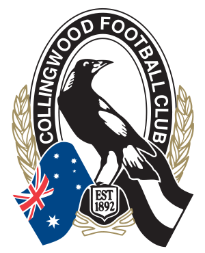 Collingwood Football Club Logo With Images Collingwood Football Club Collingwood Football Club
