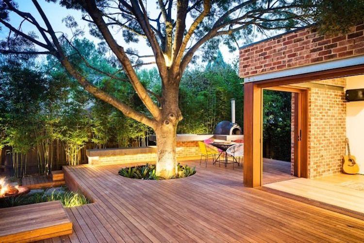Design extérieur- mobilier et éclairage pour terrasse et ...