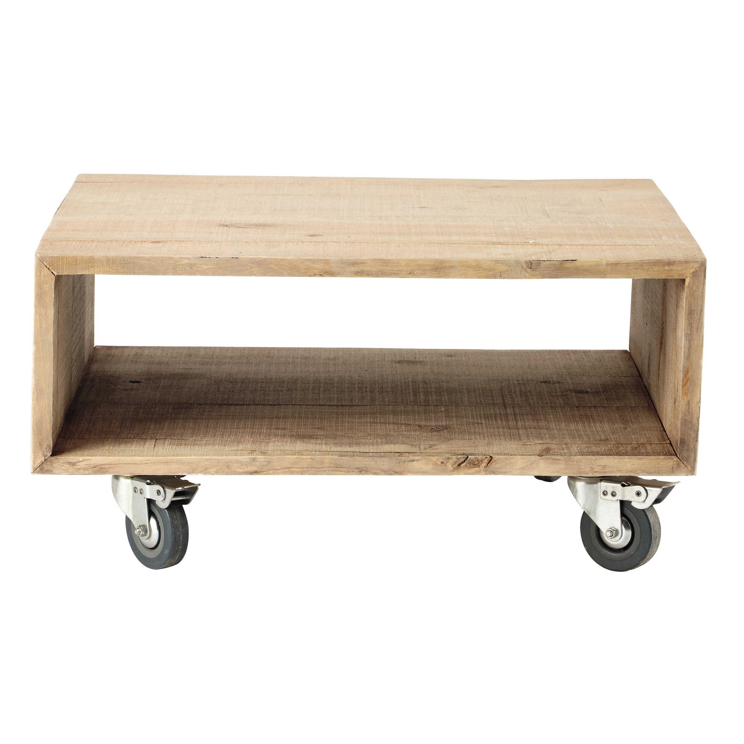 Bijzettafel Op Wieltjes.Accessoire Meubels Living Wooden Side Table Affordable