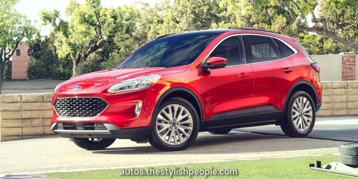 Excellent Ford Escape 2020, the compact SUV is totally
