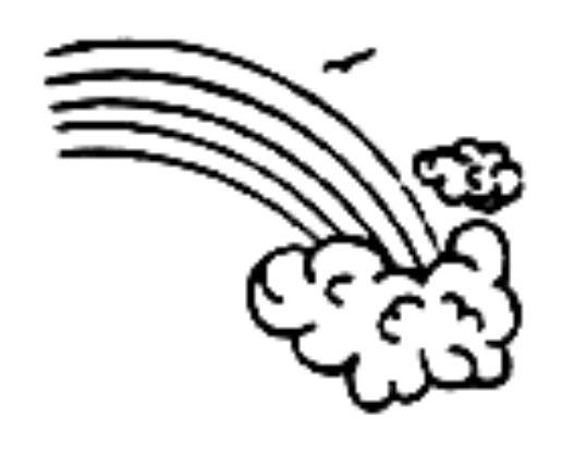 Arco-Íris: O Meio Arco-Íris é um dos símbolos mais usados pela a ...