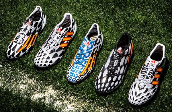 Adidas celebra la Copa del mundo de Battle Pack Collection soccer cleats