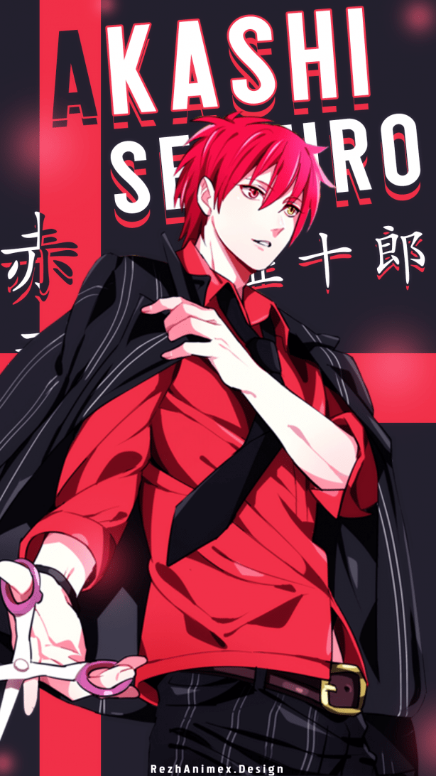 About Picture Character Name Akashi Seijuro
