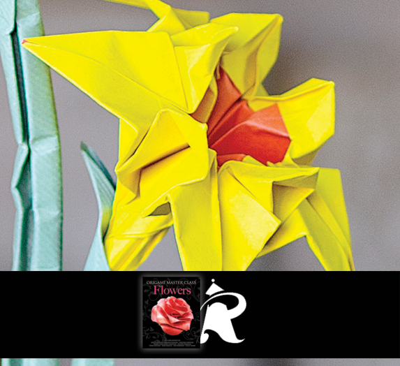 This origami narcissus is designed by joost langeveld and is in this origami narcissus is designed by joost langeveld and is in origami master class flowers which includes models by john blackman toshikazu kawasaki mightylinksfo