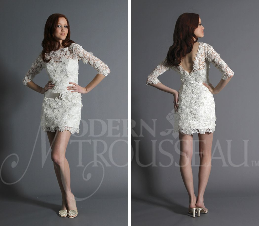 Other white dress long sleeved lace the road to i do pre