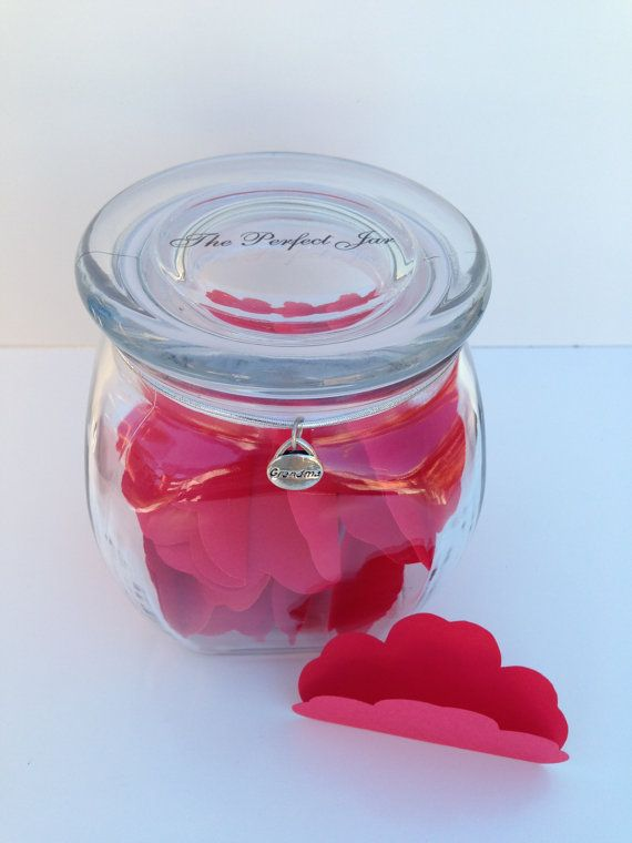 Grandma Gift Jar On 30 Pieces Of Paper Write Reasons Why You Love