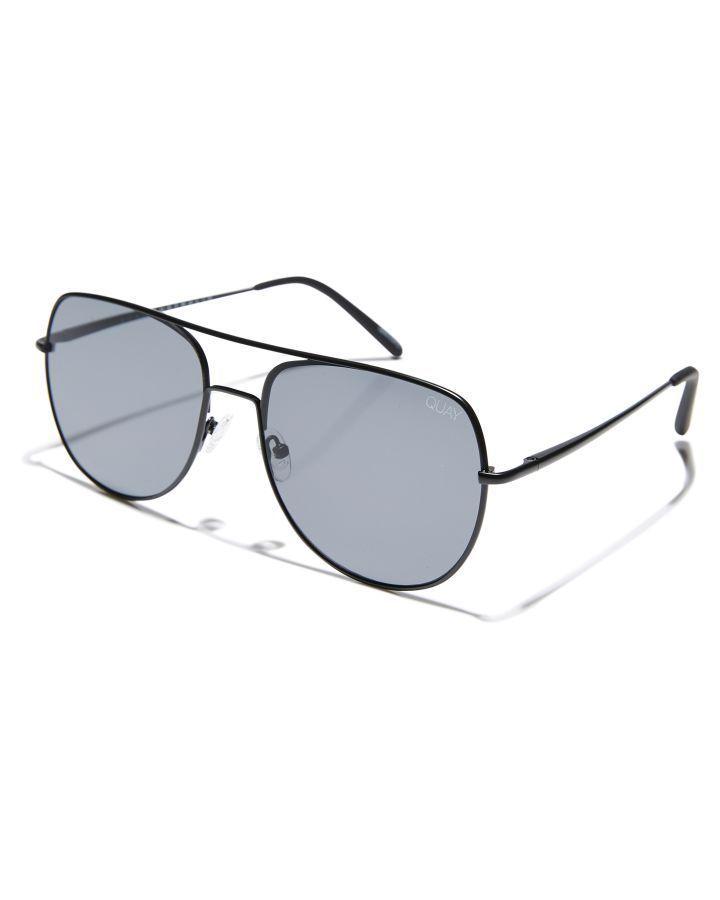 c7271972d2099 Quay Eyewear Living Large Sunglasses Black Smoke Lens Mens sunglasses Size