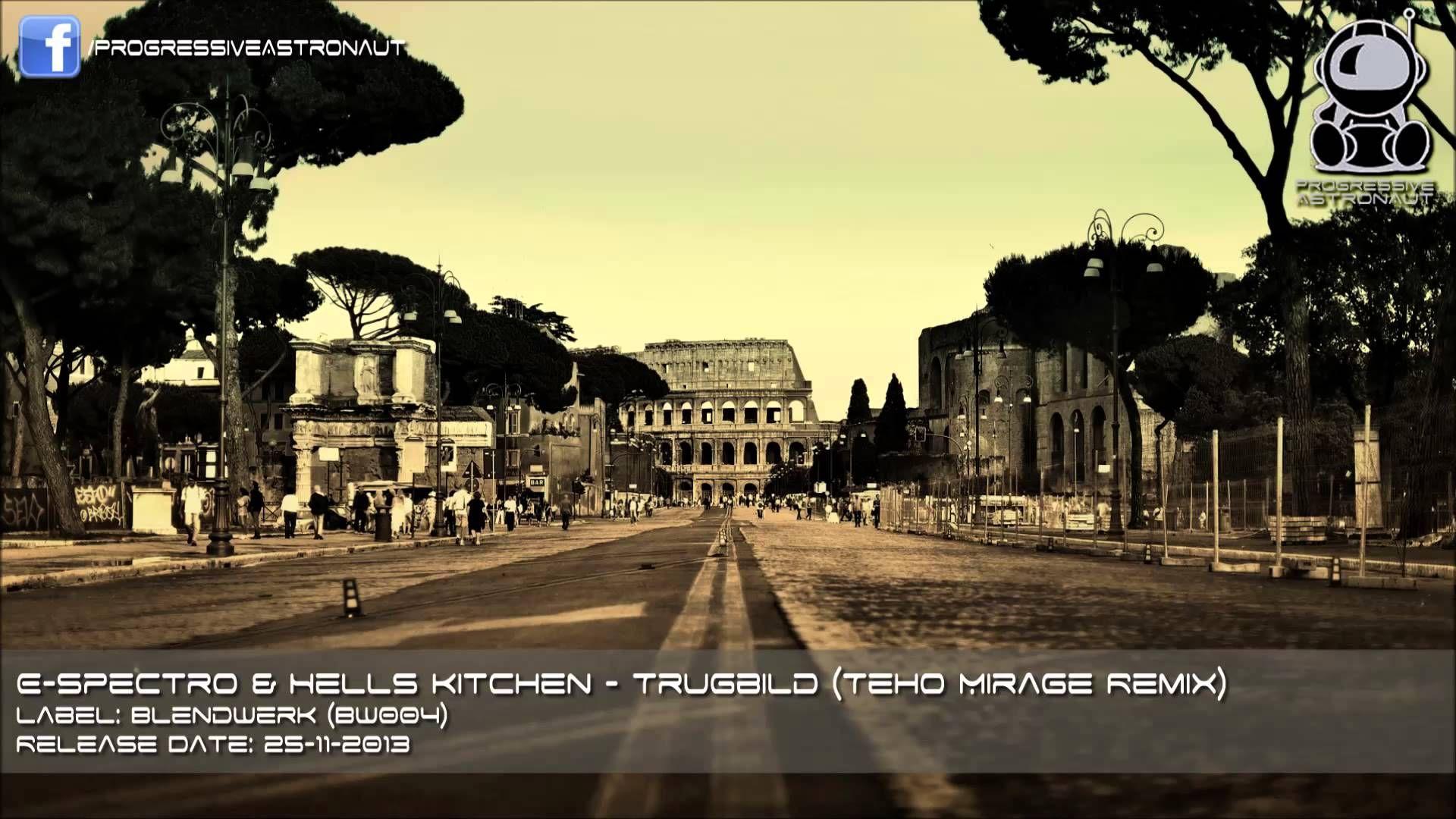 E-Spectro & Hells Kitchen - Trugbild (Teho Mirage Remix)