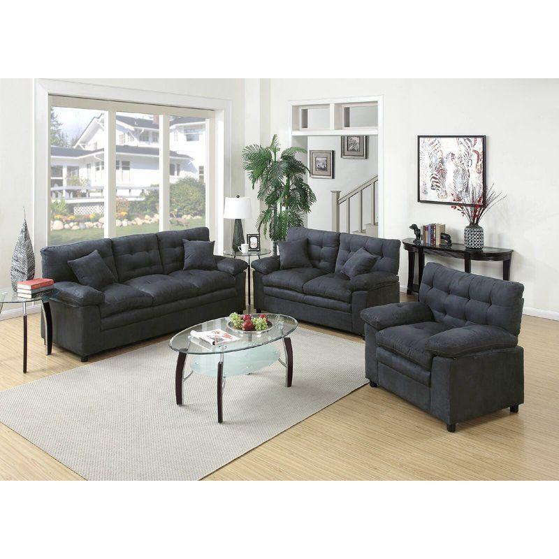 Best Default Name 3 Piece Living Room Set Living Room Sets 400 x 300
