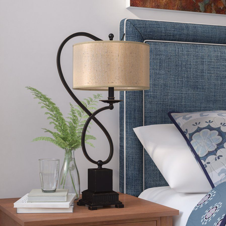 """Bancroft 27"""" Arched Table Lamp Table lamp, Lamp"""
