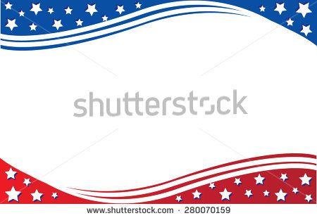Image result for patriotic borders free printable Patriotic