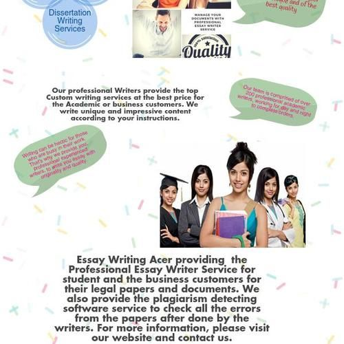 Professional article writing company