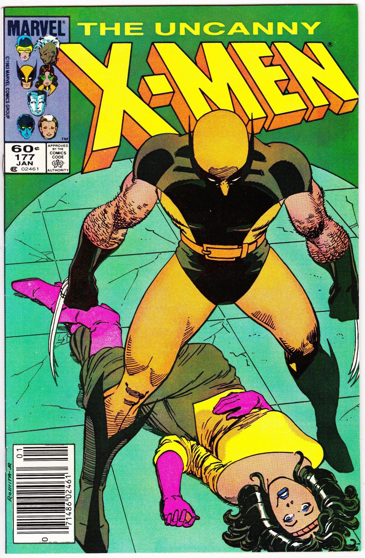 Uncanny X Men 177 January 1984 Marvel Comics Grade Nm Etsy In 2020 Comics Comic Book Shop X Men