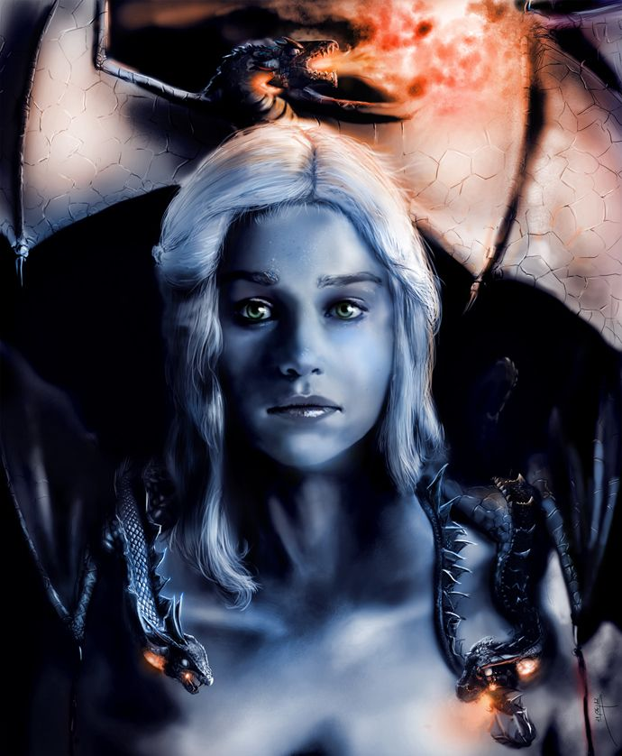 Game of Thrones: Daenarys Targaryen, Mother of Dragons