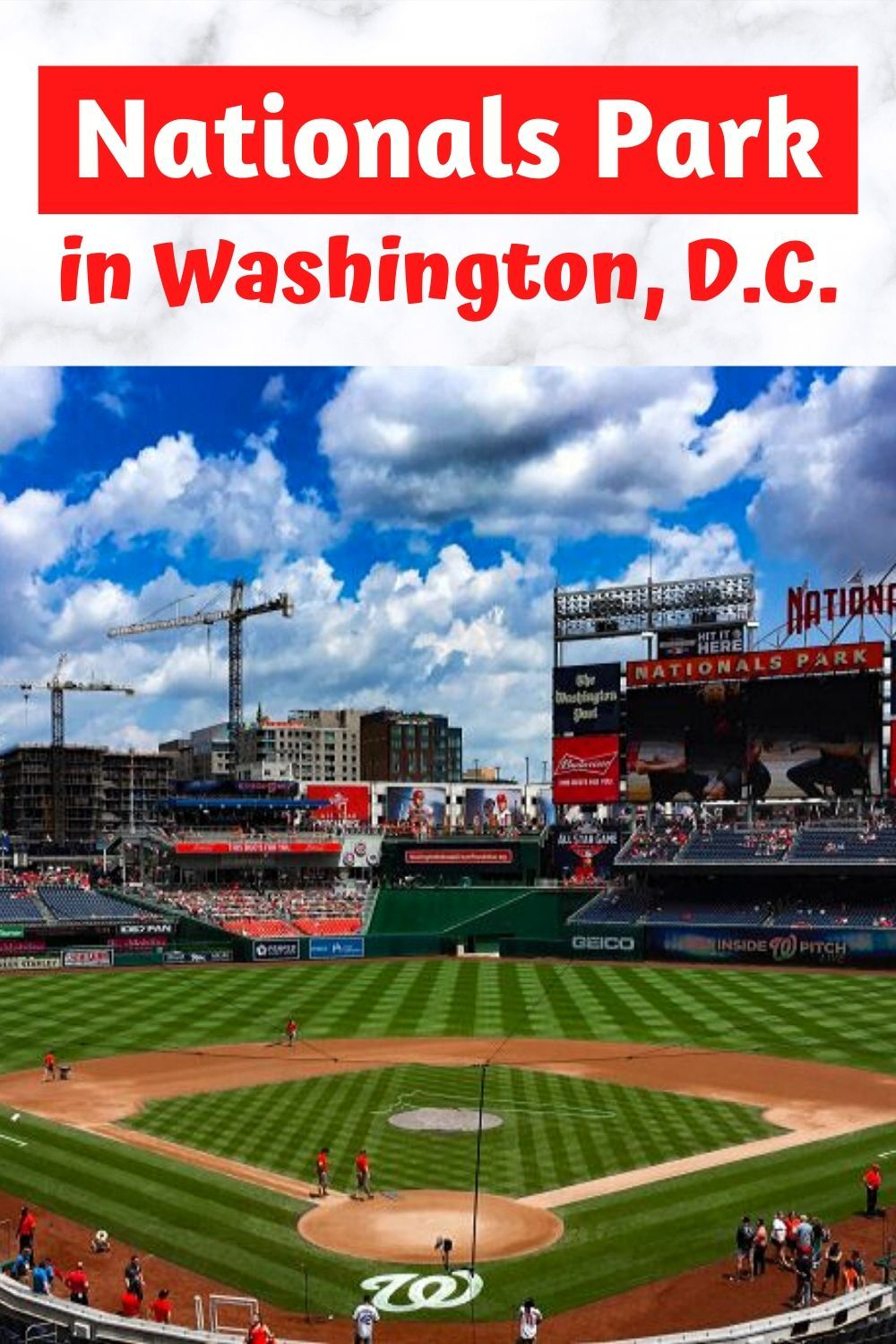 Tips For Visiting Nationals Park In Washington D C In 2020 Nationals Park Washington Washington Monument