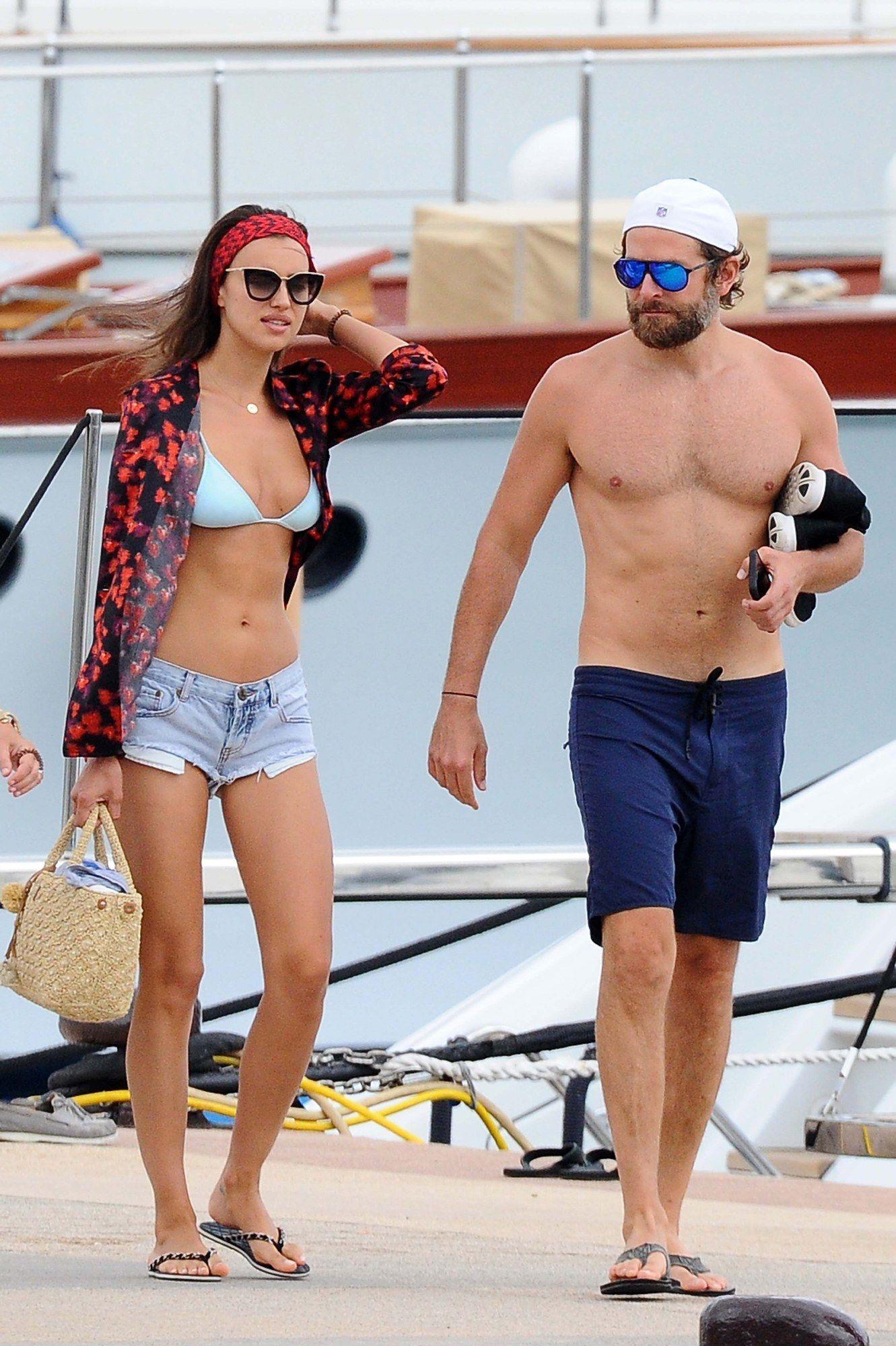 41d4a7e728 Bradley Cooper and Irina Shayk.