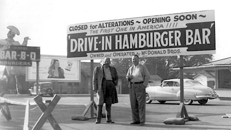 The beginning of popular McDonalds